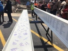 PHOTOS: Center for Theatre and Dance with a Beam Signing Ceremony