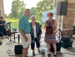 LISTEN: Laegelers Awarded Forsyth Classic Volunteer Award