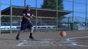 WATCH: Cup in Hand Kickball