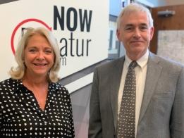 LISTEN: Julie Moore Wolfe & Scot Wrighton Post Celebration