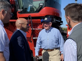 U.S. Ag Secretary Works To Allay Farmer Fears at FPS