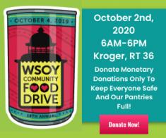 19th Annual WSOY Community Food Drive