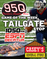 95Q Game of the Week Tailgate Stops