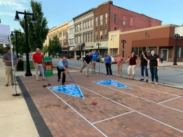 PHOTOS: When Push Comes to Shuffle with Hickory Point Bank
