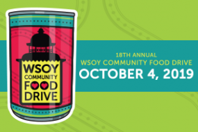 18th Annual WSOY Community Food Drive