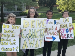PHOTOS: Drive Away Cancer with Dennis Lab School