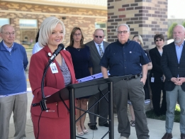 WATCH: Crossing Recovery Center Ribbon Cutting