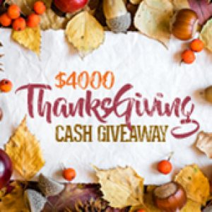 95Q $4000 Thanksgiving Cash Giveaway