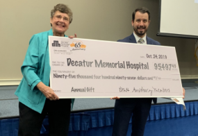 DMH Auxiliary Donates 95K to Hospital