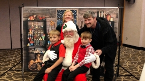 WATCH: Salvation Army Breakfast with Santa