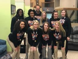 LISTEN: Coach Brad Dalton's St. Teresa Volleyball Team Joined The Aric Lee Show