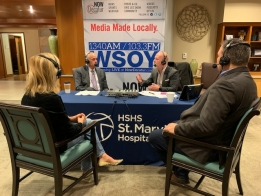 LISTEN: HSHS St. Mary's Hospital Star Lighting Campaign