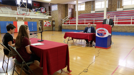 LISTEN: Johns Hill Middle School Hosts Special Debate