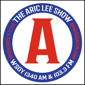 During the COVID-19 pandemic, 'The Aric Lee Show' has gone dark for the time-being ... As the country works together to beat this challenge, the NowDecatur family fully expects the show to return in the near-future ... for now, enjoy the last month of shows.