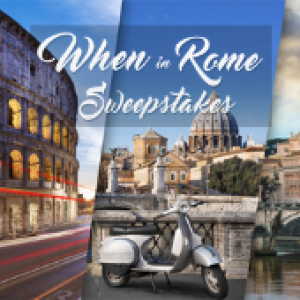 HOT When in Rome Sweepstakes
