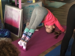 PHOTOS: Giggles Donuts & Yoga