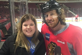 Local Girl Receives Cancer Treatment Thanks to Blackhawks Player