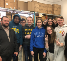 LISTEN: Eisenhower FFA Officers Volunteer At The Good Samaritan Inn