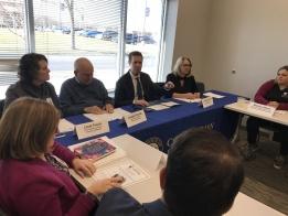 Congressman Davis Holds Coronavirus Listening Session with Local Health Officials