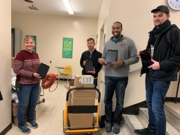 DPS61 Donates IPads and PPE To HSHS St. Mary's Hospital