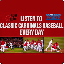 With Major league Baseball on hiatus due to COVID19, the St. Louis Cardinals Radio Network and WSOY are bringing you Classic Cardinals Baseball starting Monday, March 23rd through Monday, May 11th! We will bring you every game from the 2011 World Series Championship run, starting with the game that originally aired on August 25th vs. the Pirates. Check out the full schedule below. We will also have podcasts from each game right here!