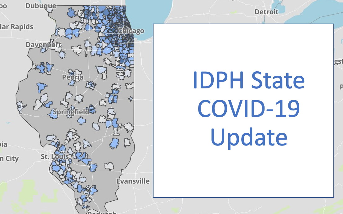 The Illinois Department of Public Health Announces 1,549 New Cases; 20 Additional Deaths