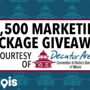 $2500 Marketing Package Giveaway, presented by DACVB!