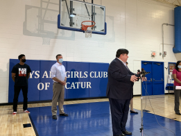 Governor Visits Boys and Girls Club of Decatur To Highlight Child Care Funding