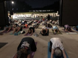 Moonlight Yoga at the Devon Amphitheatre