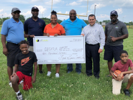 Land of Lincoln Credit Union Donates $10,000 to the Decatur Junior Football League