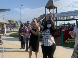New Playground Opens At Overlook Thanks To Gift from JWA