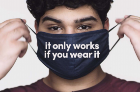 Governor Launches Campaign To Encourage Mask Use