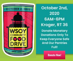 19th Annual WSOY Community Food Drive