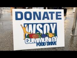 Food Drive Seeking Volunteers, Slots Limited
