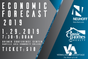 January 3, 2019 – Neuhoff Media to host Economic Forecast 2019