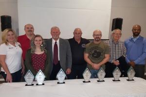 April 11, 2019 – Neuhoff Media Danville Recognized 8 Vermilion County Everyday Heroes