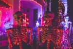 Watch Spectacular Halloween Light Display Set to System of a Down, Skrillex