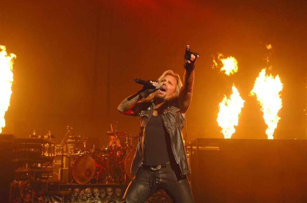 Motley Crue Performs Live in Concert at the Hammersmith Apollo