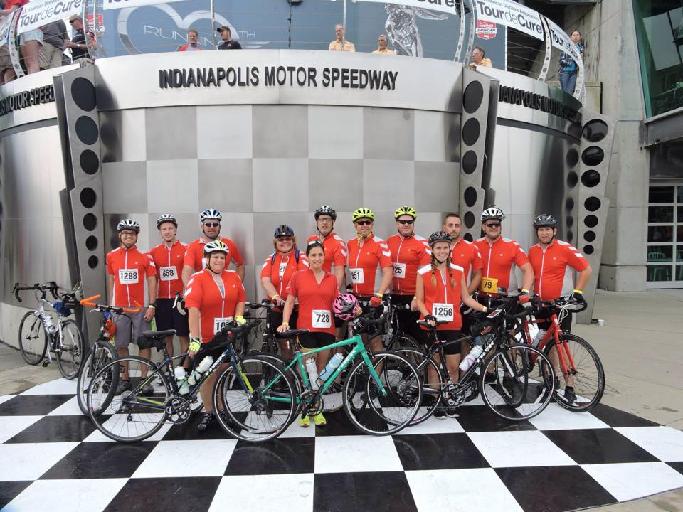 Tour de Cure 2015 - Full Team Photo