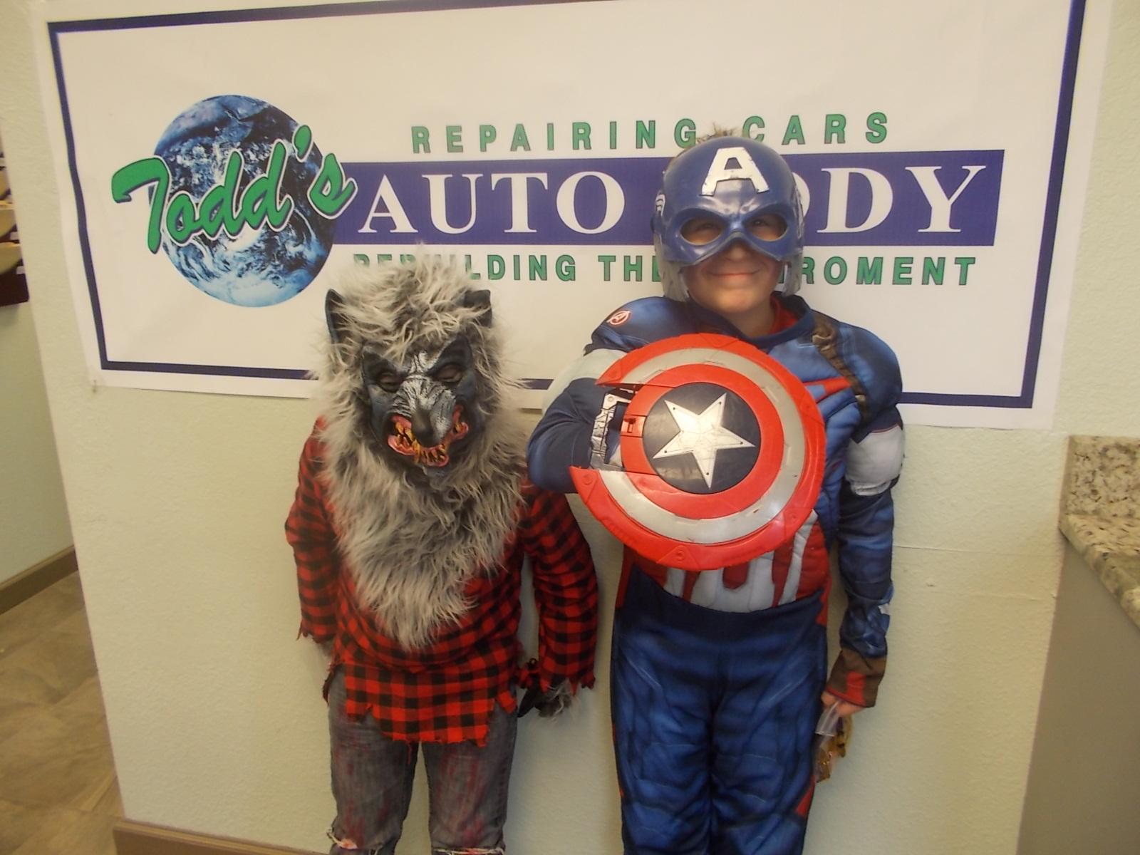 Halloween Pics from Todd's Auto Body