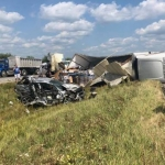 Saturday's I-74 Pile-Up Claims a Life