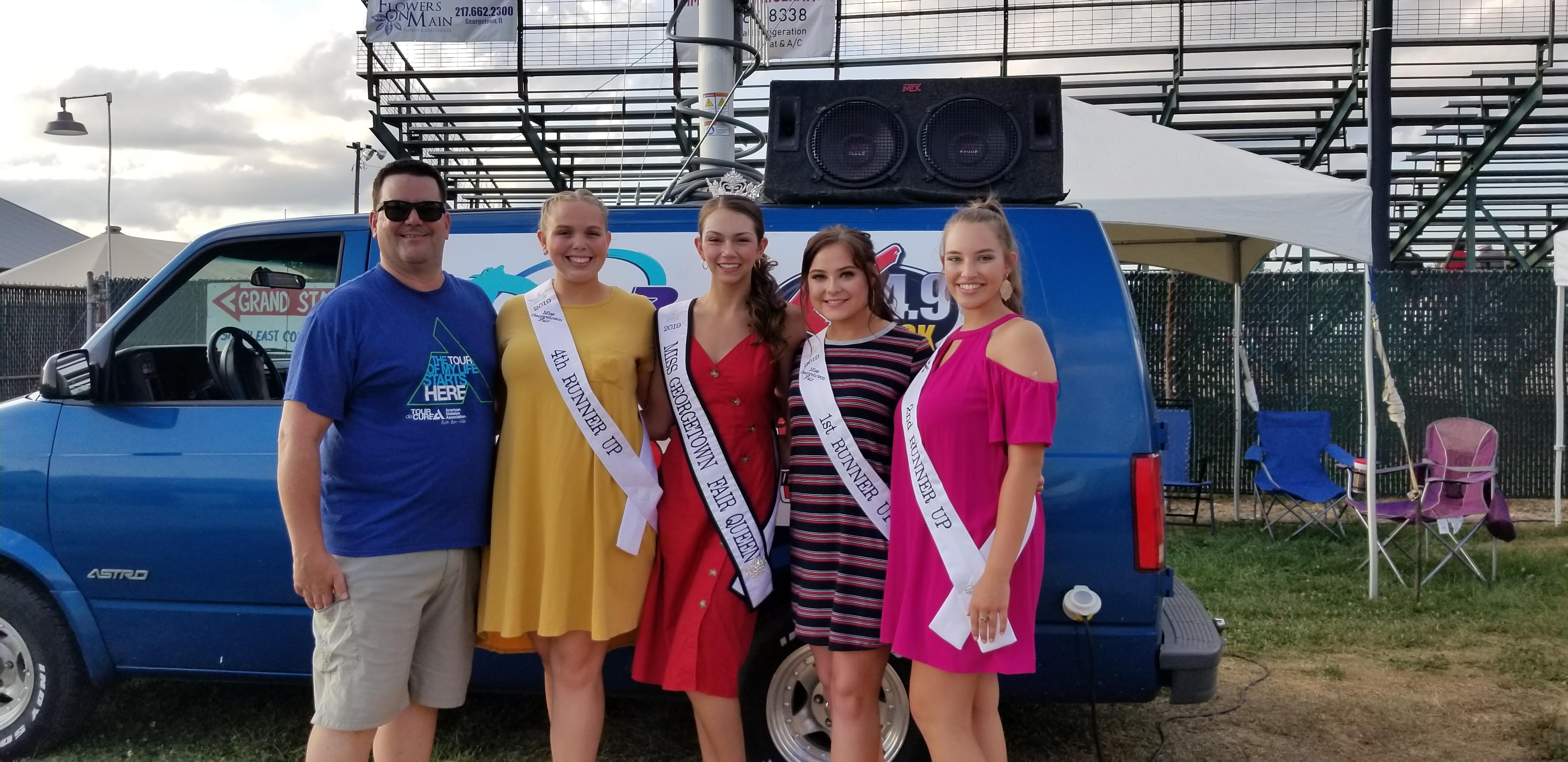 2019 Georgetown Fair Queen & Court