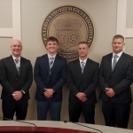 Six Probationary Police Officers Take Oaths
