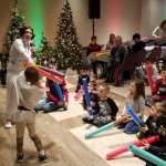 OSF Festival of Trees Exciting Children