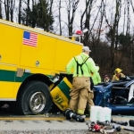 Indiana Crash Involving Car & Fire Truck Claims Life