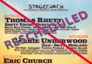 Stagecoach Festival Moved to October