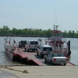 Cave-in-Rock Ferry Closed Early With Ohio River Levels Rising