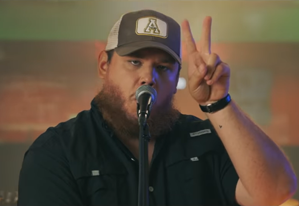 Luke Combs Opens Up About Anxiety With Dan Rather