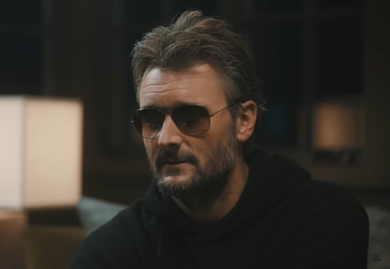 Eric Church Performs Solo After COVID Breakthroughs