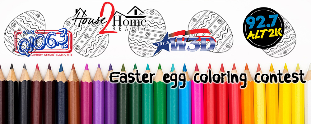 Easter Egg Coloring Contest